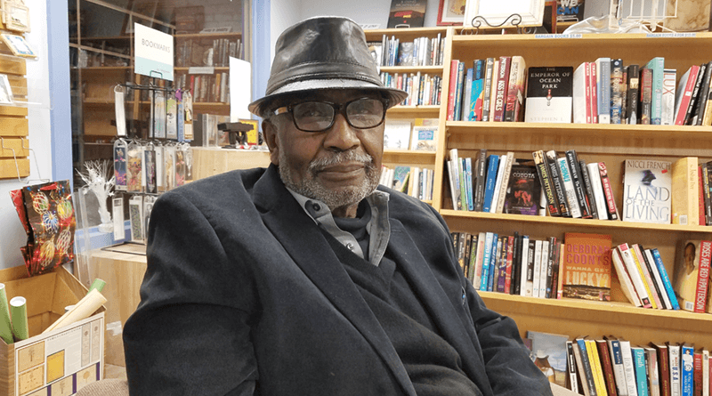 Curtis Rivers has run Mood Makers Books in Village Gate since 1994.