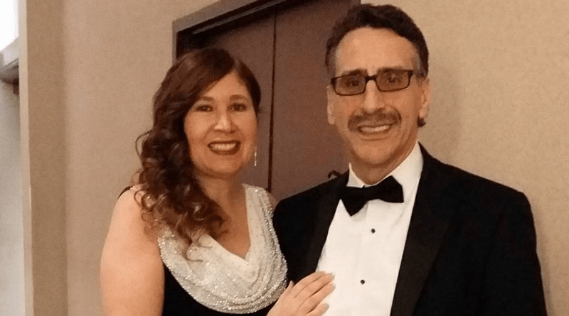 María Delgado Sutton and her husband, Jim Sutton, a physician assistant at Rochester Regional Health.