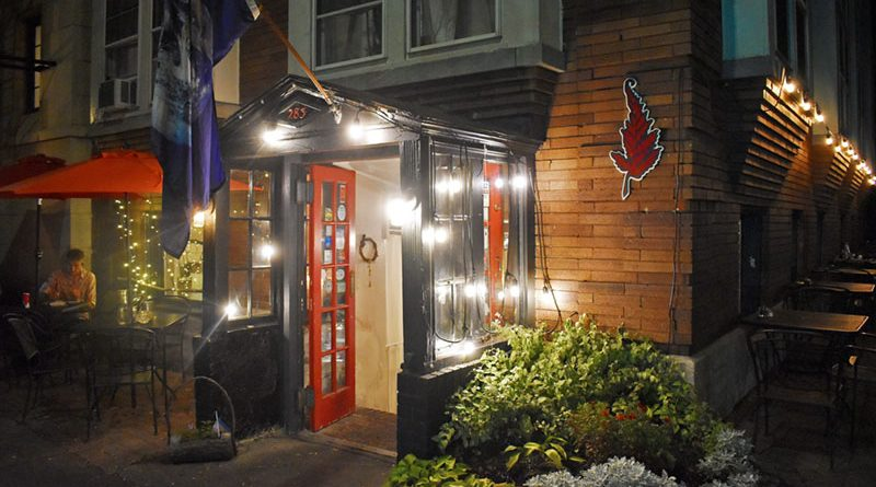 Façade of The Red Fern, a vegan-friendly restaurant located at 283 Oxford St. in Rochester.