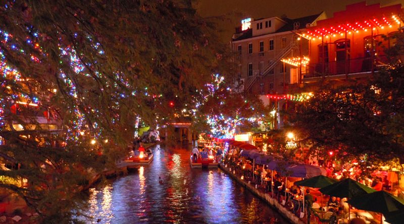 A popular destination among Rochesterians this time of the year is the Riverwalk at Christmas in San Antonio, Texas (top photo).
