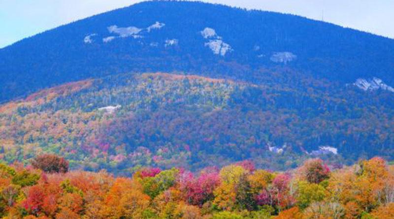 Adirondacks Mountains this fall. Photo by Todd Etshman.