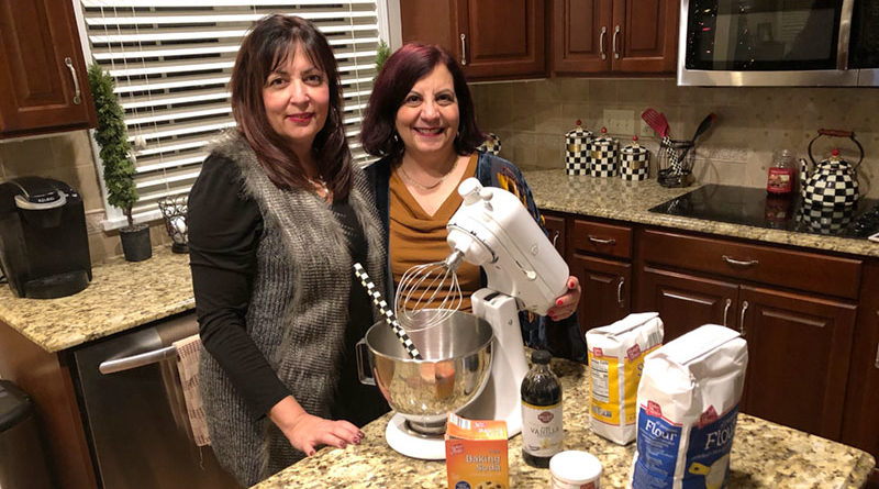 Diane Cook (left) and Karen Zempel found each other decades after their adoptions. Of the many things the sisters have in common, baking is a shared passion.