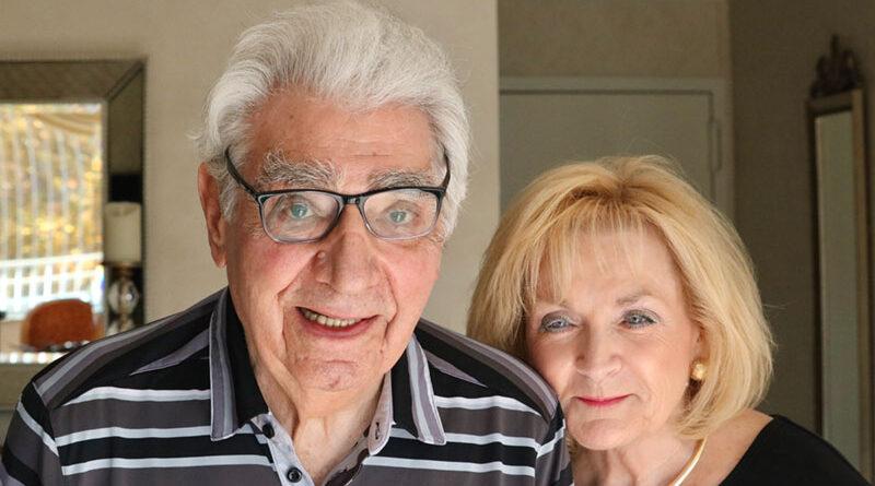 Philanthropists Bill Mendick and wife Maureen McCoy.